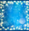 christmas optical defocus effect eps 10 vector image
