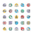 Construction Cool Icons 3 vector image vector image