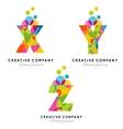 Creative Alphabet Letters vector image