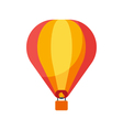 flat style of balloon vector image vector image