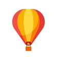 flat style of balloon vector image