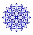 flower pottery vector image