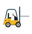 forklift machinery icon image vector image vector image