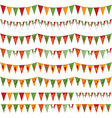 mexican party bunting vector image vector image