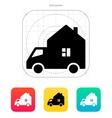Motorhome car icon vector image vector image