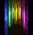rainbow overlap pixel speed abstract background vector image vector image