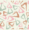 vintage abstract seamless pattern with hand drawn vector image