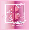 abstract pink background with text vector image vector image