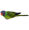 Green Parrot vector image vector image