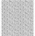 grey brick wall pattern vector image