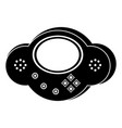 isolated portable videogame console icon vector image