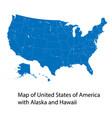 map united states america with alaska