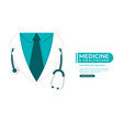 medical and health care concept background doctor vector image