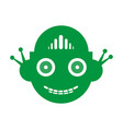 robot funny toy vector image
