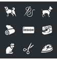Set of Clothing for pets vector image vector image