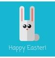 Vetor happy Easter card vector image