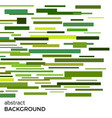 abstract background of green rectangles vector image
