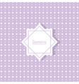 background geometric decoration flat design vector image