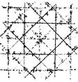 Background Scratched Grid vector image
