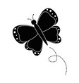 beautiful butterfly isolated vector image