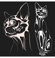 Cat1 vector image vector image
