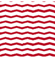 chevron vintage background red vector image