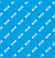 delicious candy pattern seamless blue vector image vector image