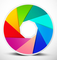 Material Design Infinity Circle Colorful Symbol