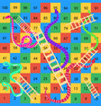 snakes-and-ladders-game vector image