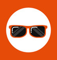 sunglasses icon design vector image vector image