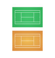 tennis court background vector image
