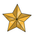 star american independence nation symbol vector image