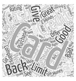 Cash Back Credit Cards A Good Idea Or A Sneaky Way vector image vector image