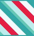 christmas diagonal striped seamless pattern vector image vector image