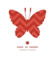 colorful ikat chevron butterfly silhouette pattern vector image vector image