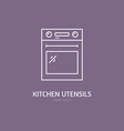 House Appliances Logo vector image vector image