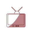 tv entertainment symbol vector image vector image