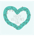 airy design in valentines day vector image