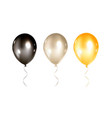 Balloons collection isolated
