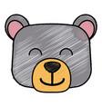 bear cartoon animal vector image vector image