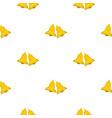 bells pattern seamless vector image vector image