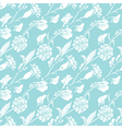 blue flowers 6 380 vector image vector image
