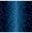 Blue security background with HEX-code vector image vector image