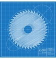 Circular Saw vector image