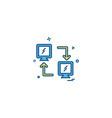 Data sharing icon design