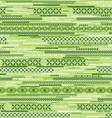 green geometric seamless vector image