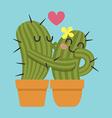 Kiss Cactus vector image vector image