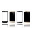 Smartphone blank screen vector image vector image