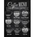 Coffee Menu cup chalk