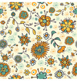 Abstract nice flower seamless pattern vector image vector image